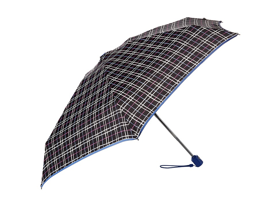 Vera Bradley Automatic Mini Umbrella Alpine Plaid Umbrella