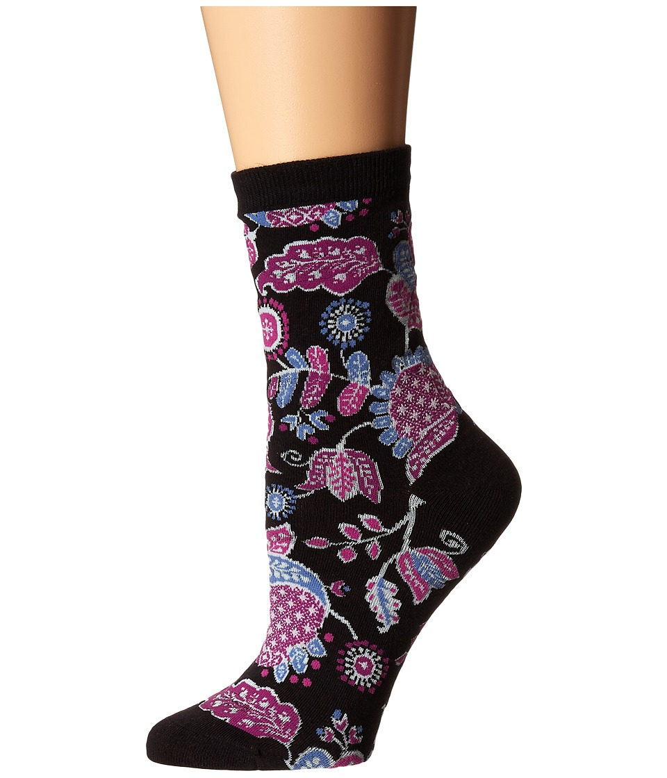 Vera Bradley Foxy Socks Alpine Floral Womens Low Cut Socks Shoes