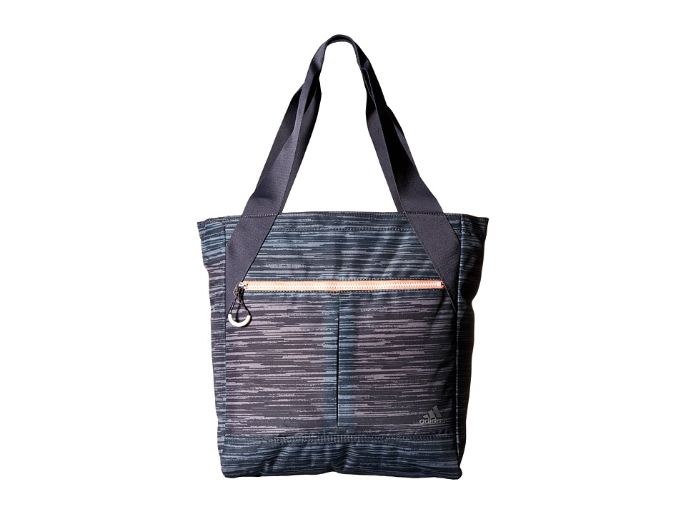 adidas - Fearless Tote (Space Dye Deepest Space/Sun Glow) Tote Handbags