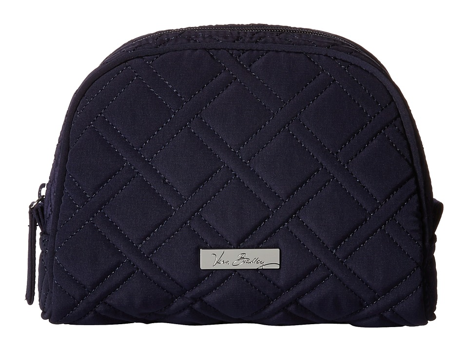 Vera Bradley Luggage Medium Zip Cosmetic (Classic Navy) Cosmetic Case