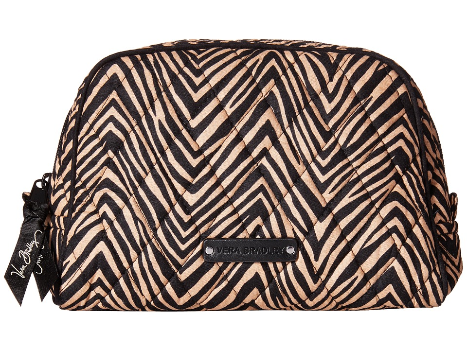 Vera Bradley Luggage Medium Zip Cosmetic Zebra Cosmetic Case