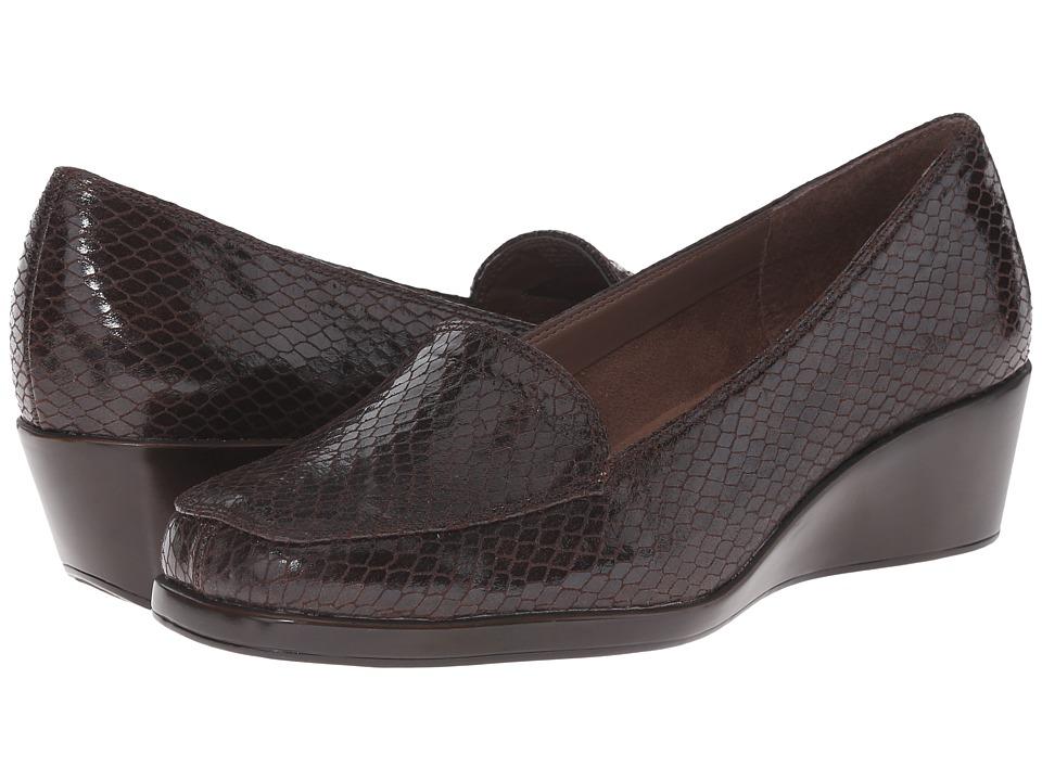 Aerosoles Final Exam (Brown Exotic) Wedge Shoes
