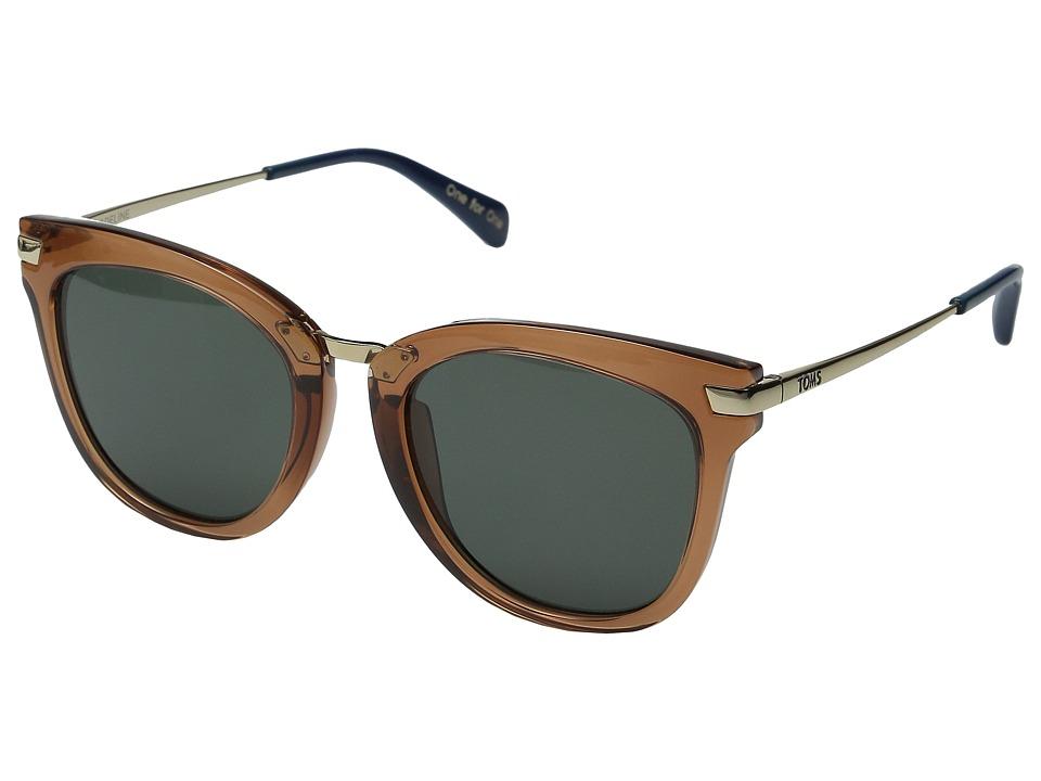 TOMS Adeline Rose Crystal Fashion Sunglasses