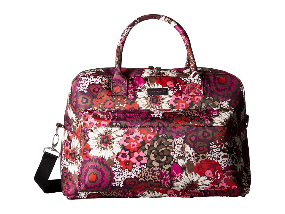 Vera Bradley Luggage - Perfect Companion Travel Bag (Rosewood) Bags
