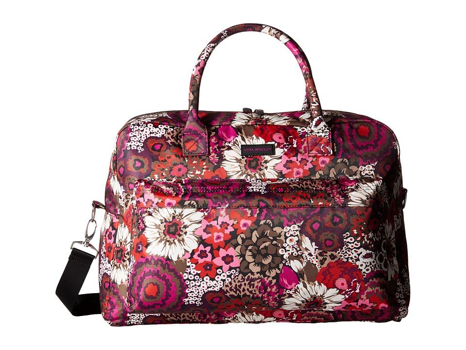 Vera Bradley Luggage - Perfect Companion Travel Bag (Rosewood) Bags