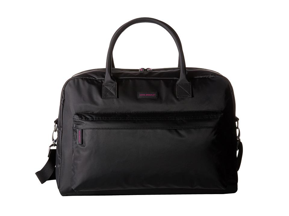Vera Bradley Luggage - Perfect Companion Travel Bag (Black) Bags