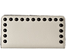 Rebecca Minkoff Sophie Snap Wallet with Studs (Putty)