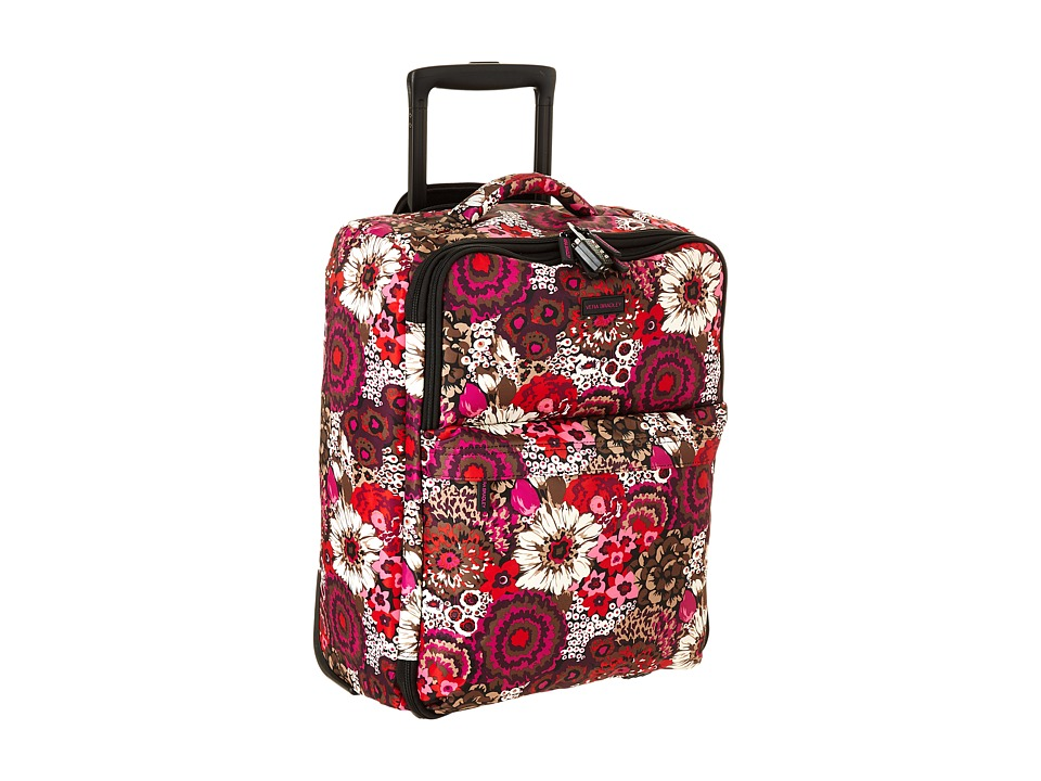 Vera Bradley Luggage - Small Foldable Roller (Rosewood) Carry on Luggage