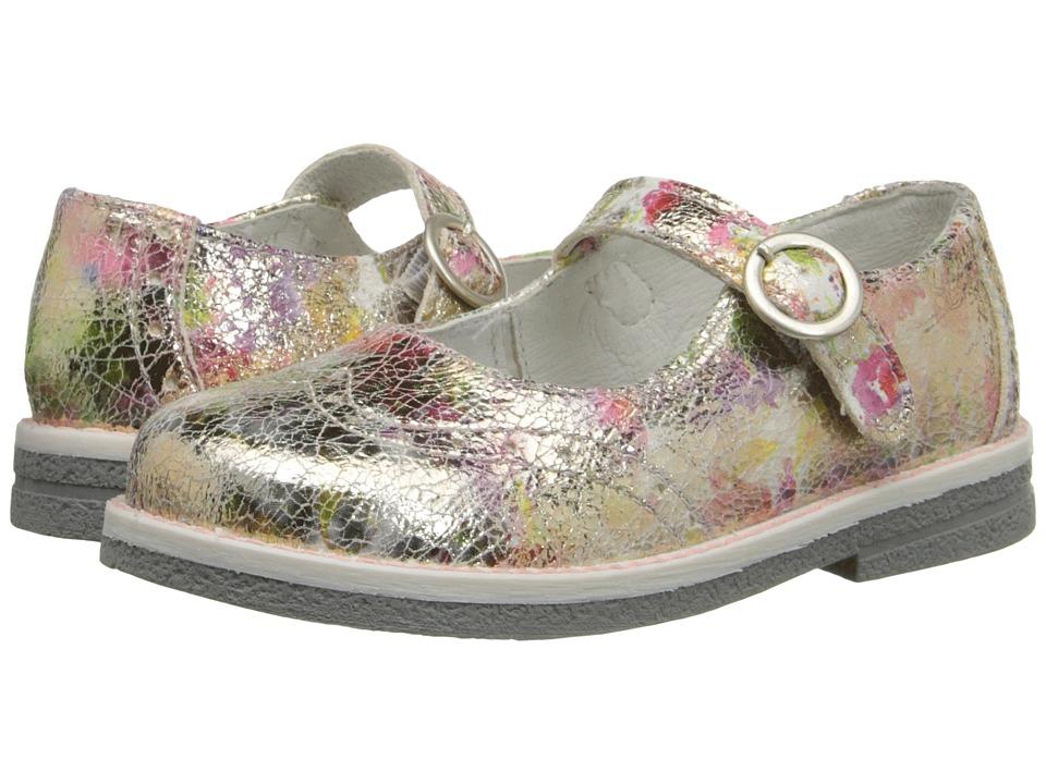 Primigi Kids Alina Toddler Gold Multi Girls Shoes