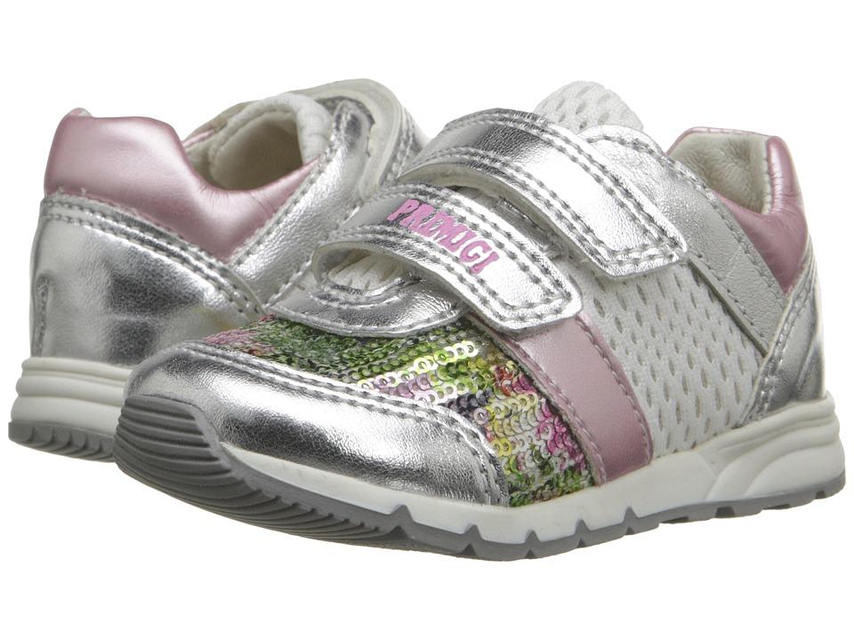 Primigi Kids Ben Toddler Silver Girls Shoes