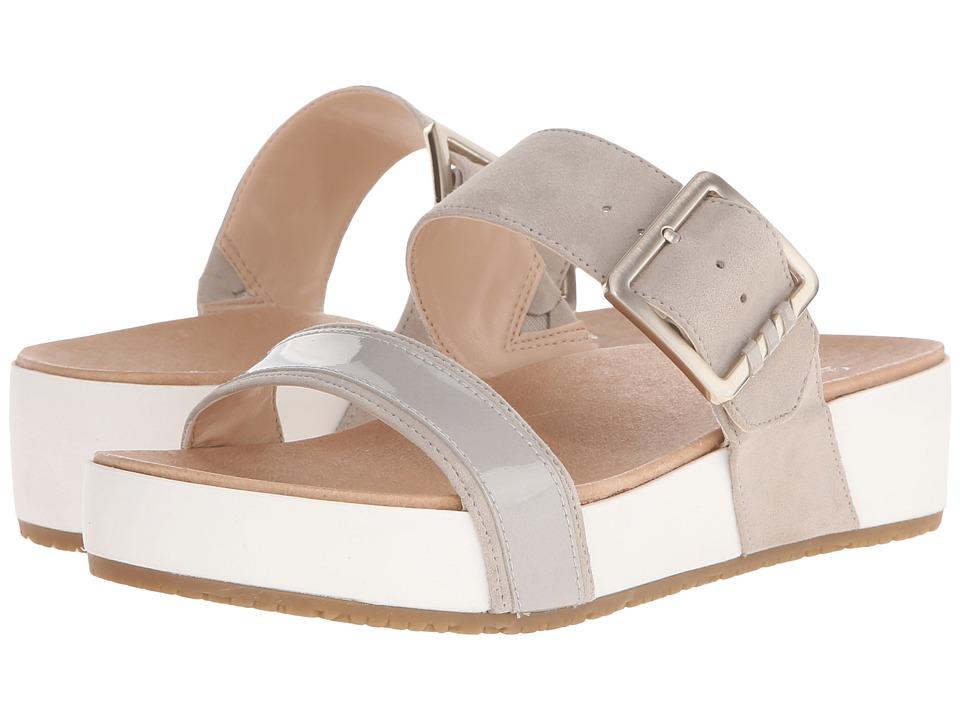 Dr. Scholls Frill Original Collection Bone/White Bottom Womens Sandals