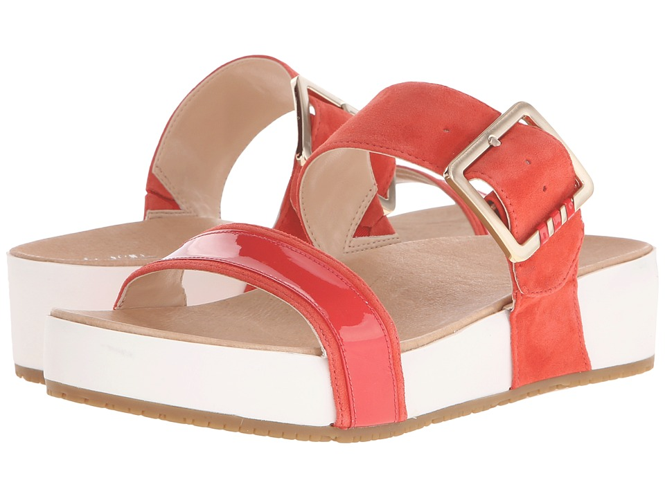 Dr. Scholls Frill Original Collection Flame/White Bottom Womens Sandals