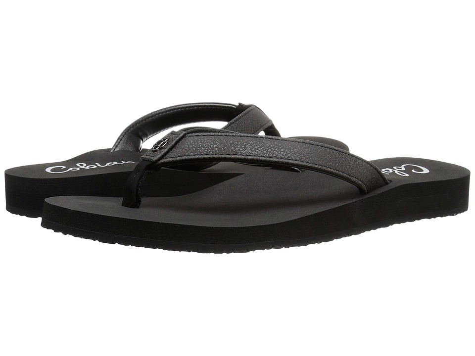 Cobian Skinny Bounce (Black) Sandals