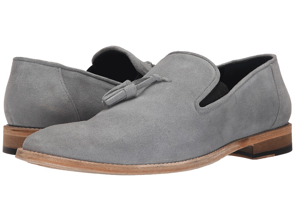 Messico Berriz Grey Suede Leather Mens Shoes