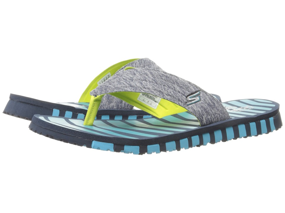 SKECHERS Performance Go Flex Vitality Navy/Blue Womens Shoes