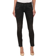 G-Star - Lynn Mid Skinny Fit Jeans in Slander Black Superstretch Dark Cobler