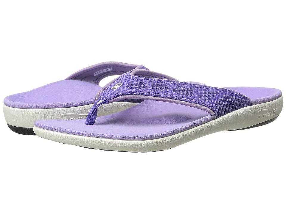 Spenco Yumi Breeze (Purple) Women's Shoes