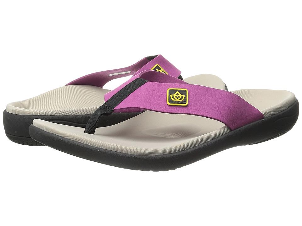 Spenco Pure Toe Post (Violet) Women
