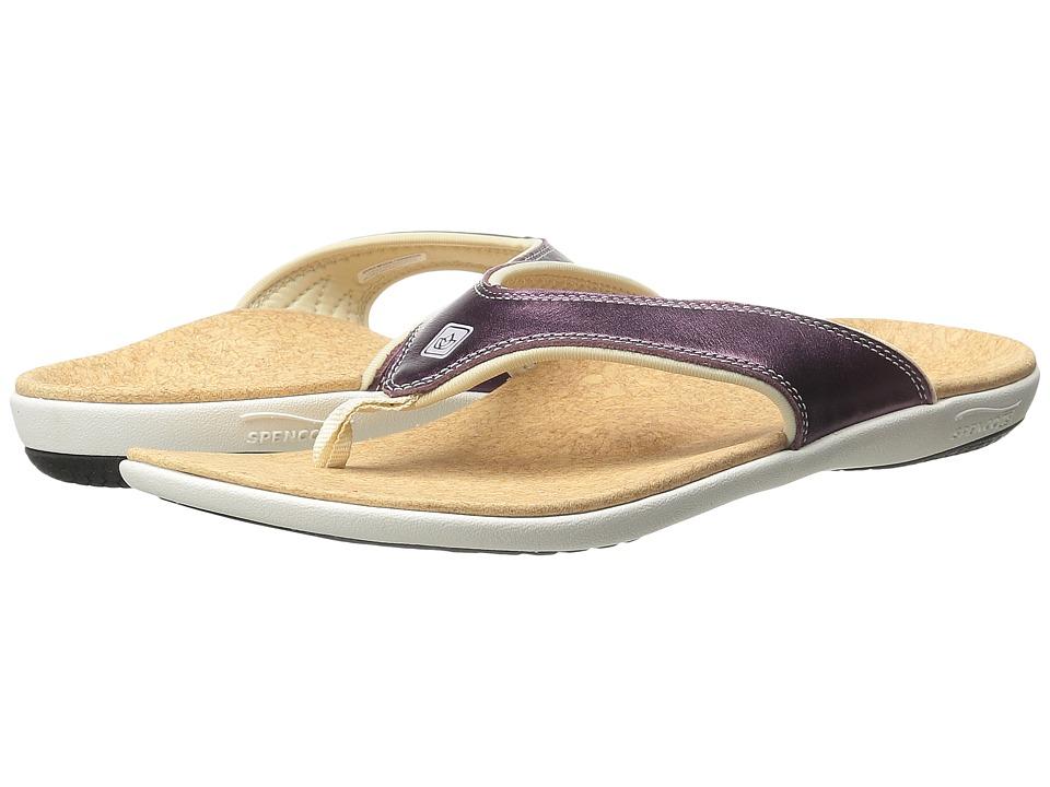 Spenco - Yumi Metallic (Violet) Women's Dress Sandals