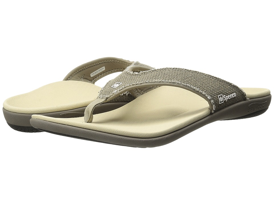 Spenco Yumi Canvas Major Grey Mens Shoes