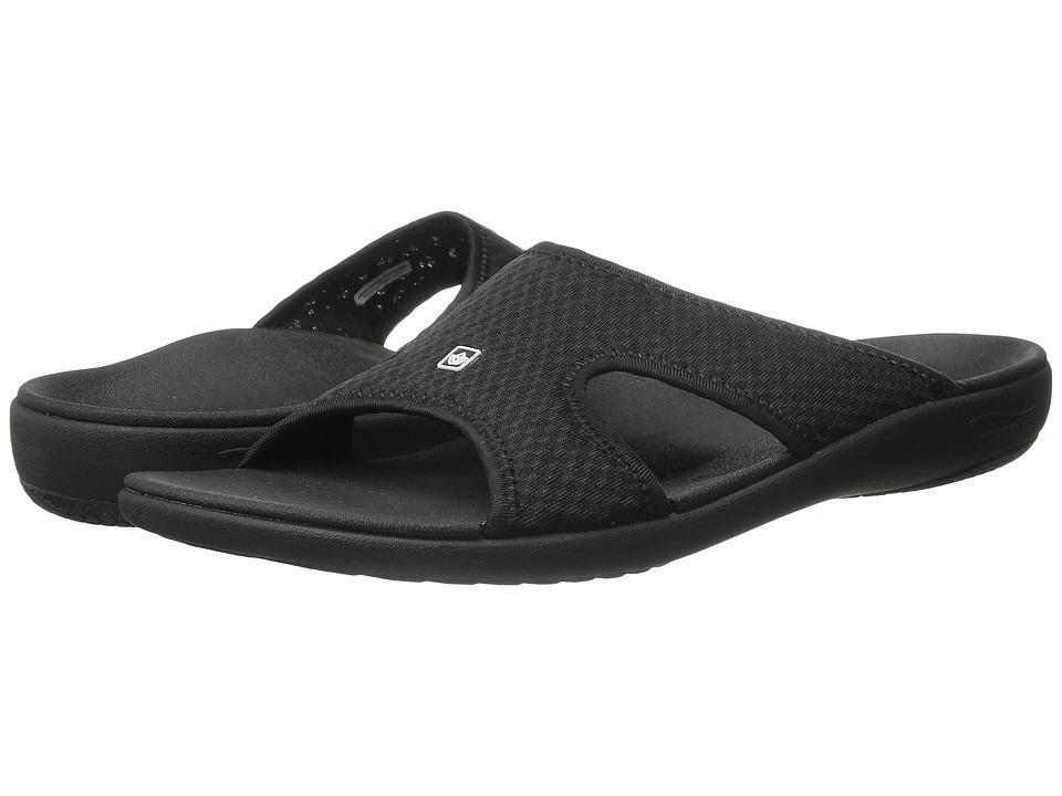 Spenco Kholo Breeze Black Mens Shoes