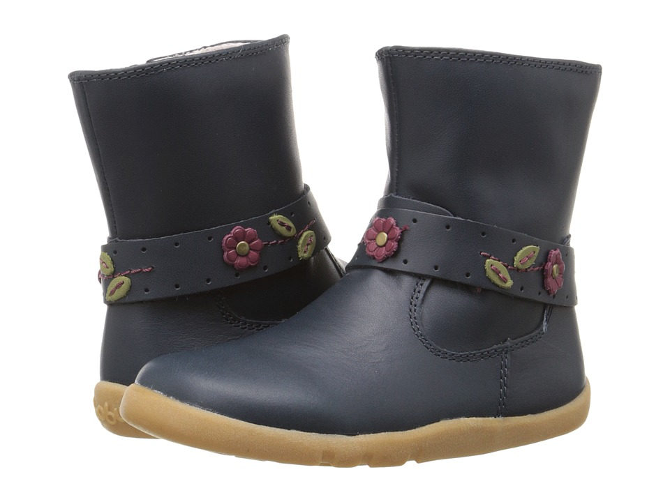 Bobux Kids I Walk Aztec Rose Boot Toddler Navy Girls Shoes