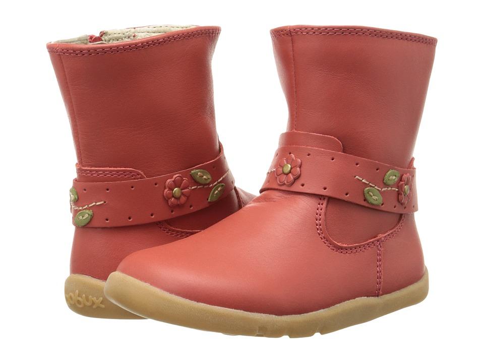 Bobux Kids I Walk Aztec Rose Boot Toddler Red Girls Shoes