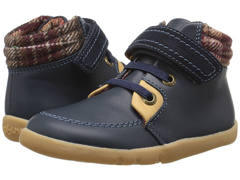 Bobux Kids I-Walk Little Lumber Jack Boot (Toddler) - Navy