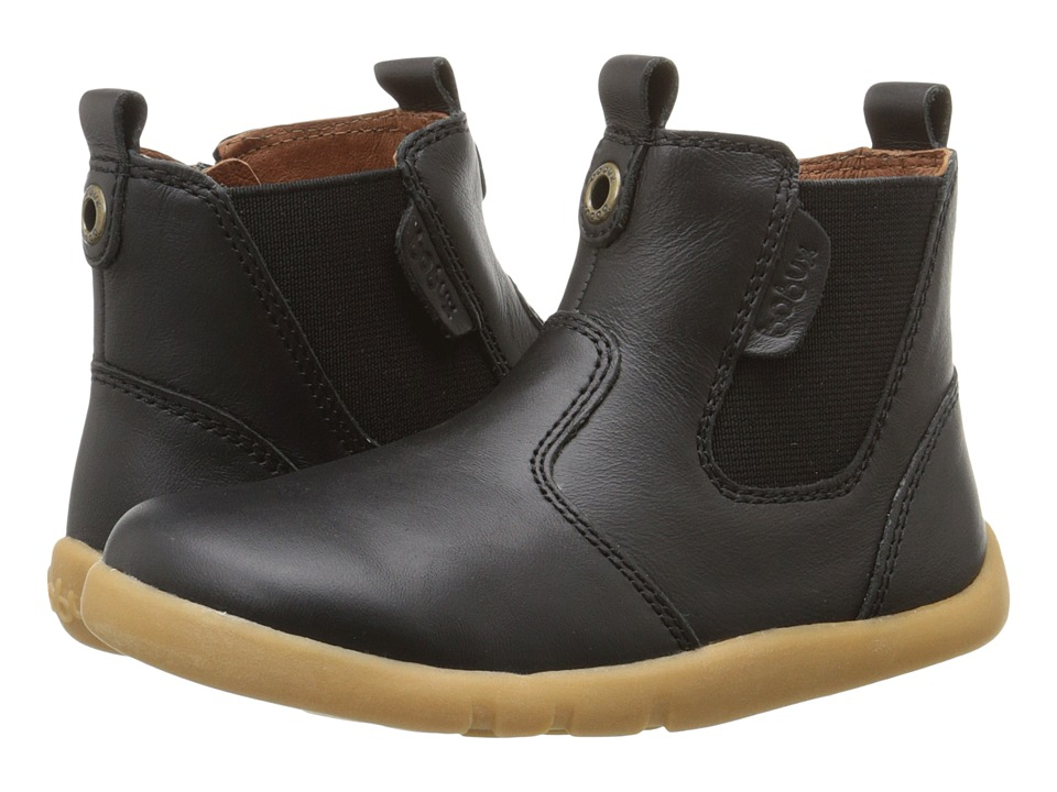 Bobux Kids I-Walk Outback Boot (Toddler) (Black) Kids Shoes