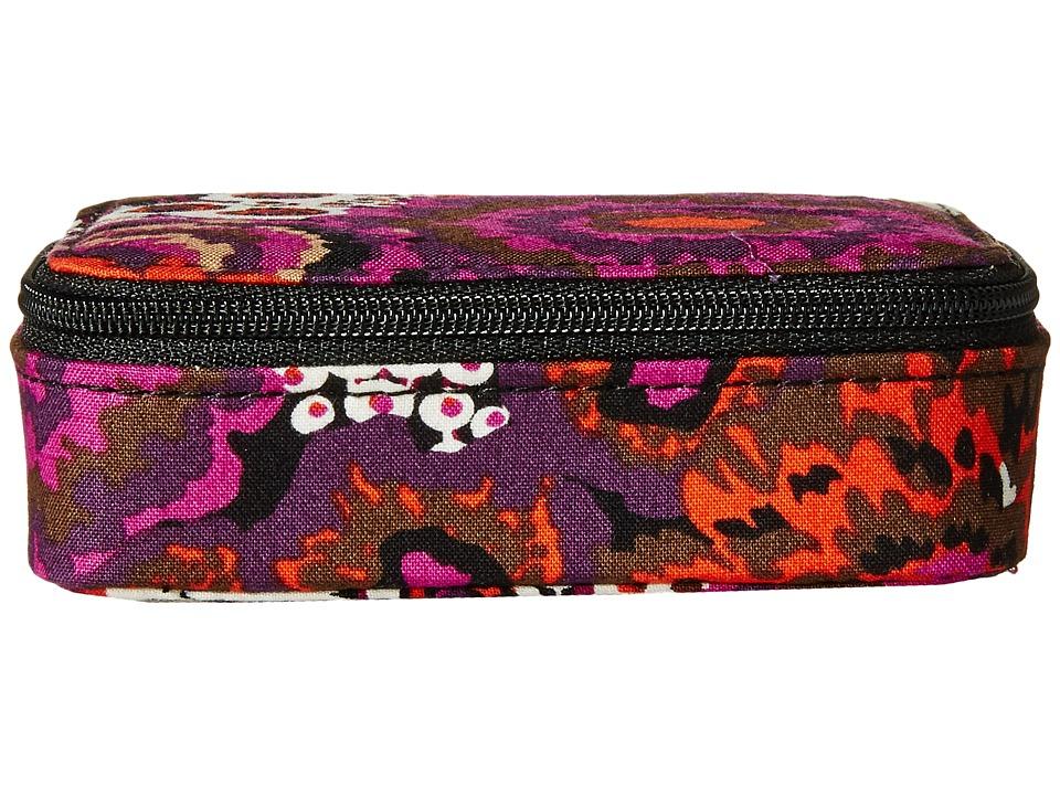 Vera Bradley Travel Pill Case Rosewood Travel Pouch