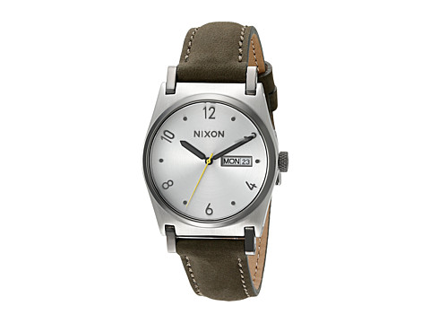 Nixon Jane Leather - Silver/Surplus