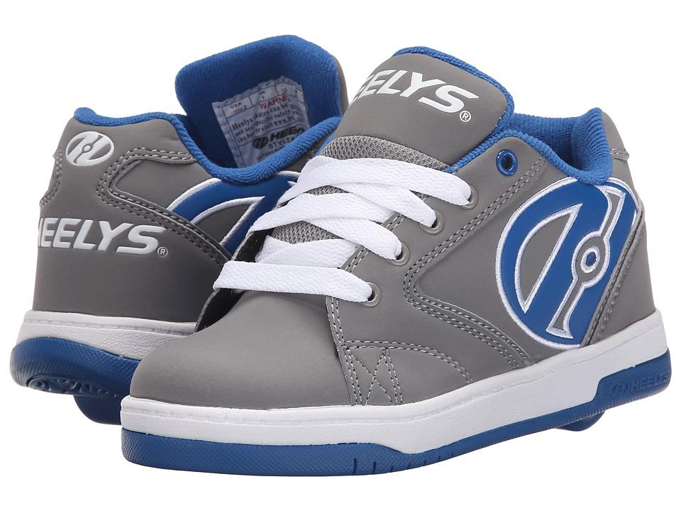 Heelys Propel 2.0 Little Kid/Big Kid/Adult Grey/Royal/White Boys Shoes