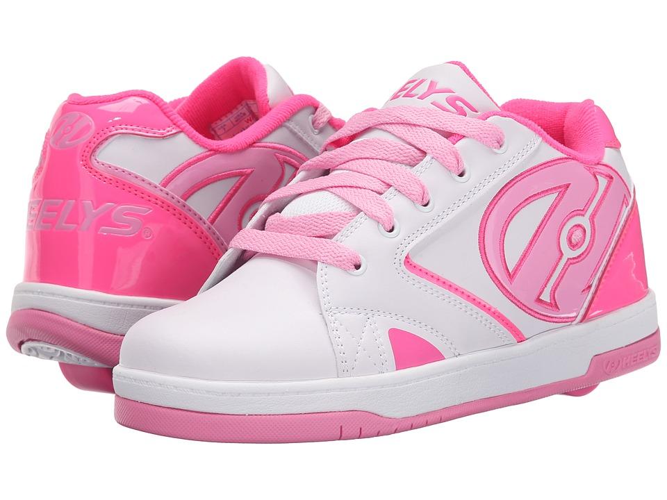 Heelys - Propel 2.0 (Little Kid/Big Kid/Adult) (White/Hot Pink/Light Pink) Girls Shoes