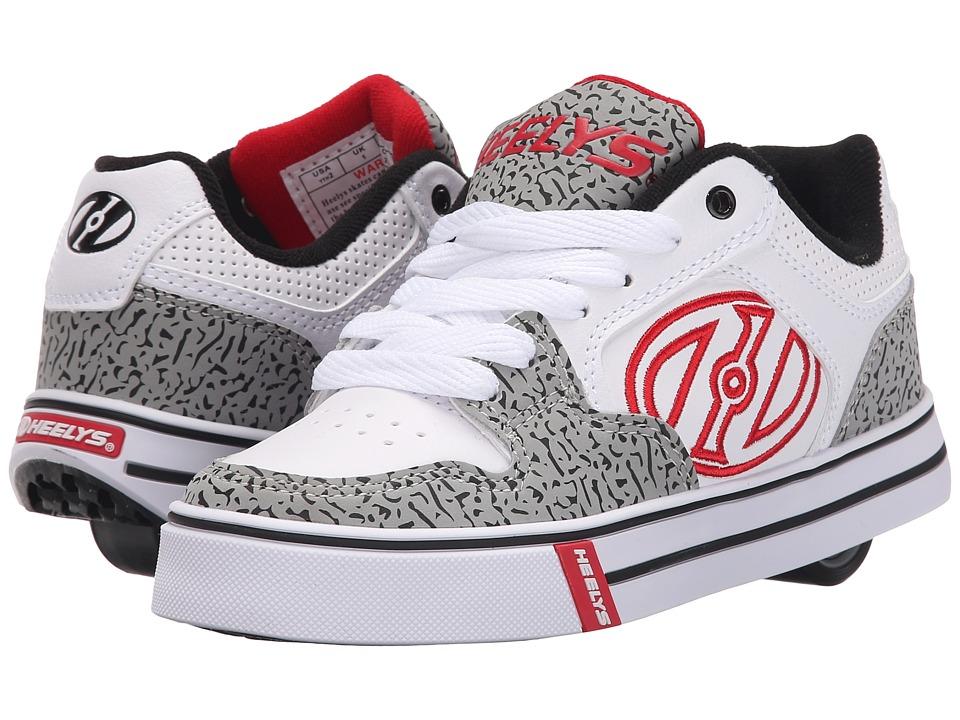 Heelys Motion Plus Little Kid/Big Kid/Adult White/Grey/Elephant Boys Shoes