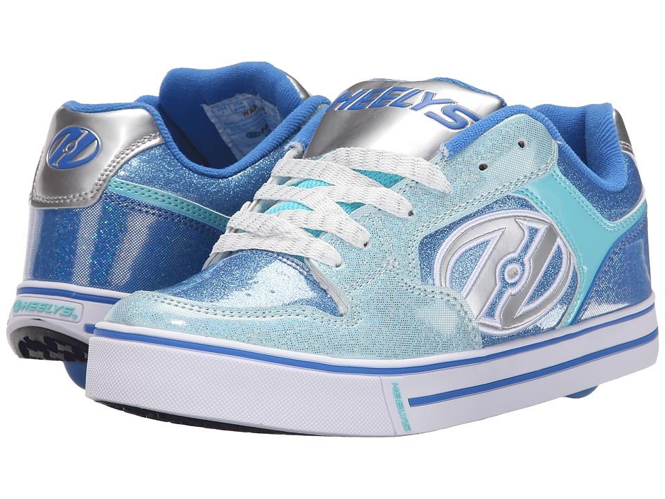 Heelys Motion Plus Little Kid/Big Kid/Adult Royal/New Blue/Ice Blue Girls Shoes