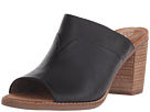 TOMS - Majorca Mule Sandal (Black Leather)