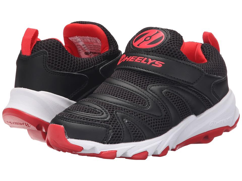 Heelys Rapido Little Kid/Big Kid/Adult Black/Red Boys Shoes