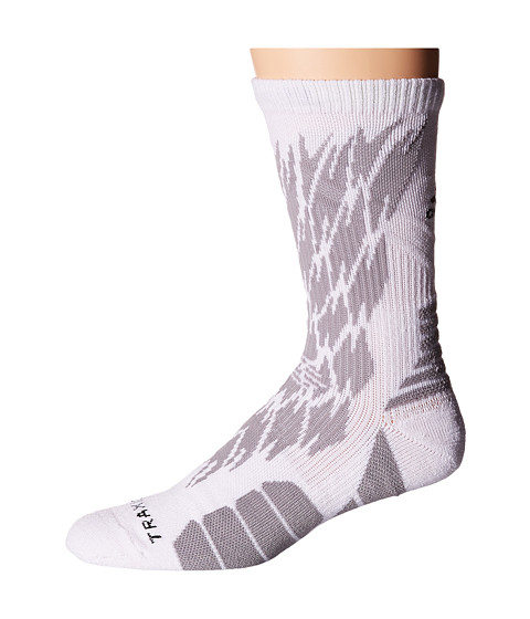 adidas Traxion Impact Shockweb Crew Socks - White/Light Onix/Black