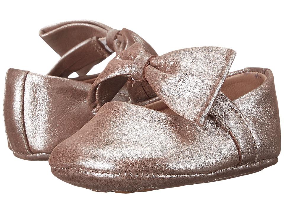 Elephantito Baby Ballerina w/ Bow Infant/Toddler Blush Girls Shoes