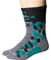 adidas - Energy Camo Crew 2-Pack Socks