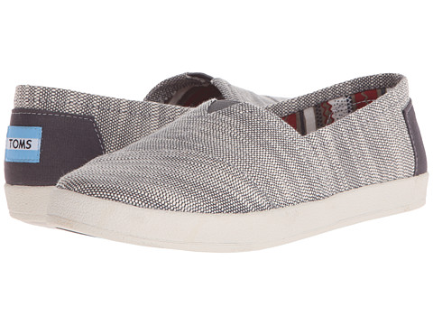 QKAGLHvUvS Womens Avalon Metallic Woven Slip-On Sneakers