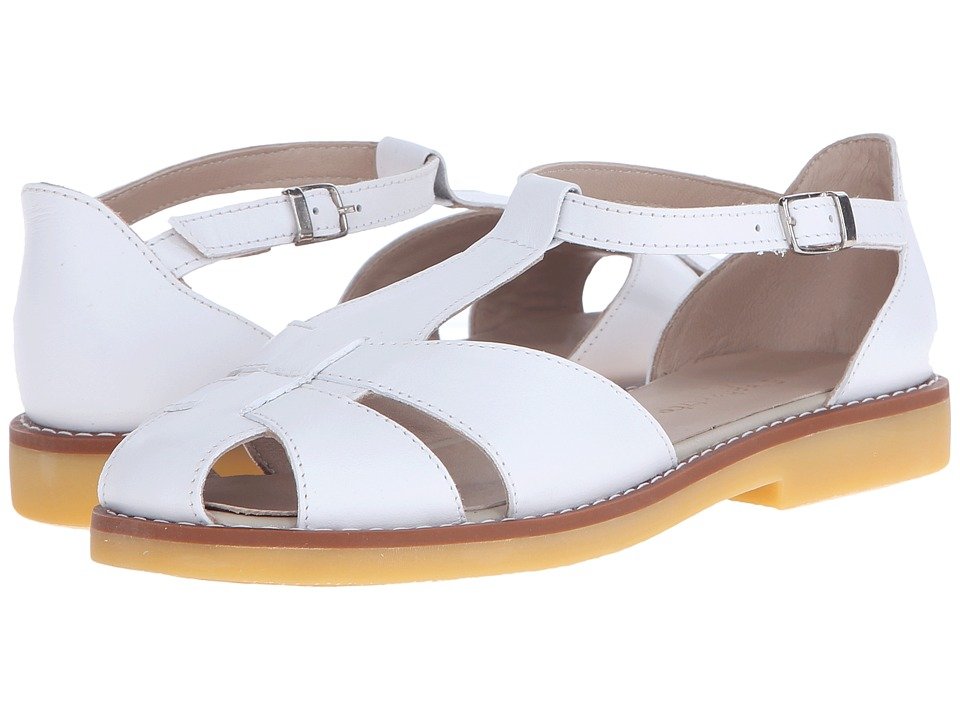 Elephantito Eli Sandal Toddler/Little Kid/Big Kid White Girls Shoes