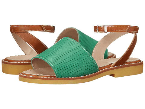 Elephantito Olivia Sandal (Toddler/Little Kid/Big Kid) - Perforated L. Green