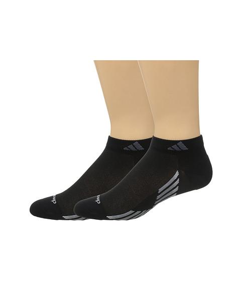 adidas climacool® X III 2-Pair Pack Low Cut Socks - Black/Grey/Clear Onix/Onix