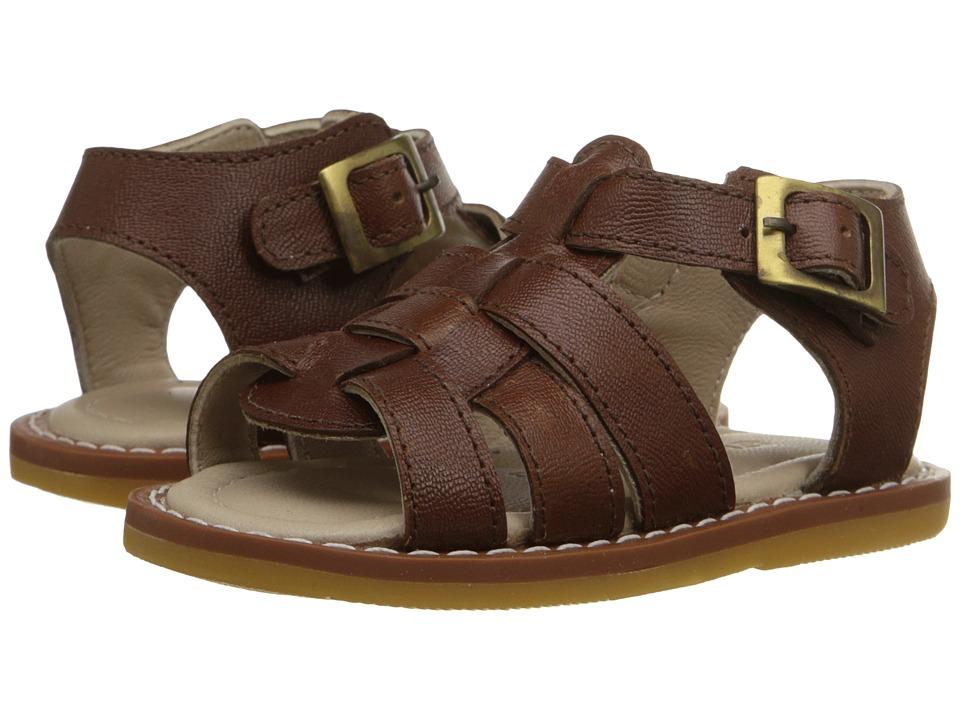 Elephantito Fisherman Sandal Infant/Toddler Leather Brown Boys Shoes