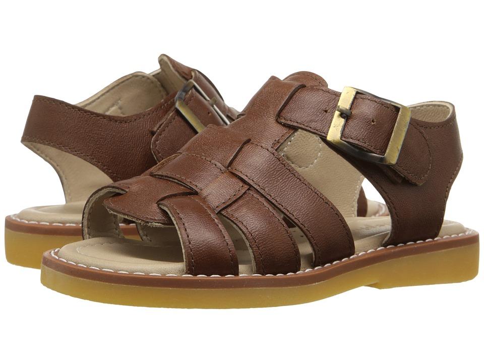 Elephantito Fisherman Sandal Toddler/Little Kid/Big Kid Leather Brown Boys Shoes