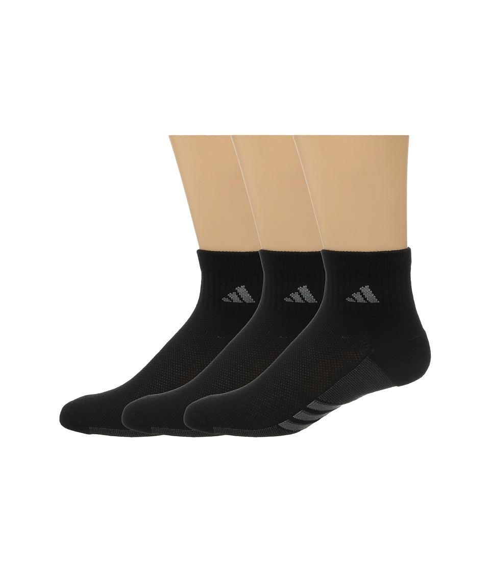 adidas - climacool Superlite 3-Pack Quarter Socks