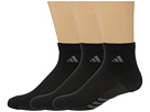 adidas climacool(r) Superlite 3-Pack Quarter Socks