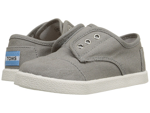 TOMS Kids Paseo Sneaker (Infant/Toddler/Little Kid) - Ash Canvas