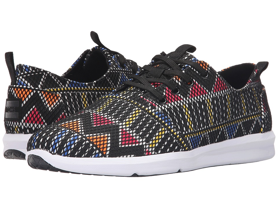 TOMS Del Rey Multi Tribal Mesh Mens Lace up casual Shoes